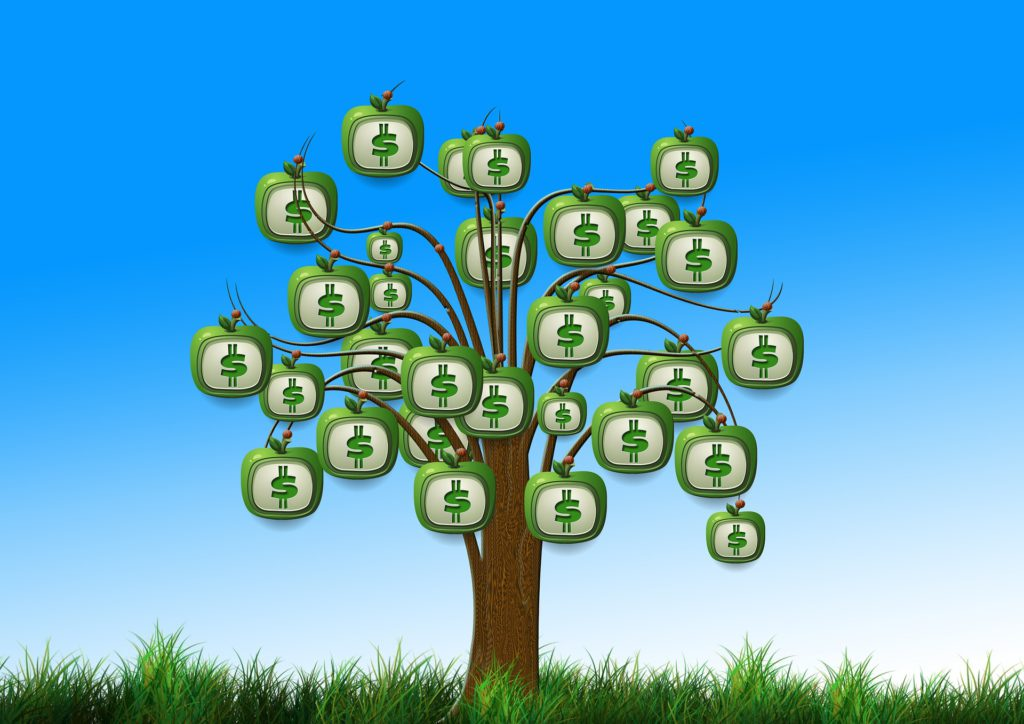 incite wealth money tree